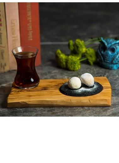 Mat For Home Zeytın Ahşap 14X23 & 10 Cap Kayrak Renkli